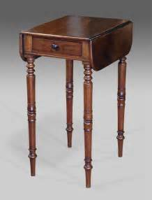 Table Pedestal Legs Antique Mahogany Work Table Victorian Work Table