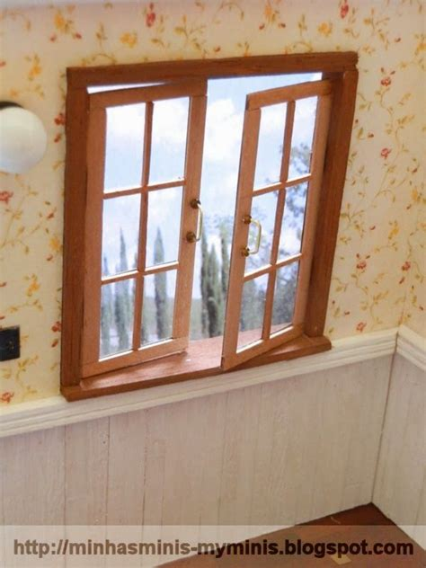 doll house window how to miniature working windows in dollhouse size dollhouse windows pinterest