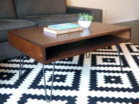 Diy Mid Century Modern Coffee Table Midcenturymodern Diy Modern Coffee Table