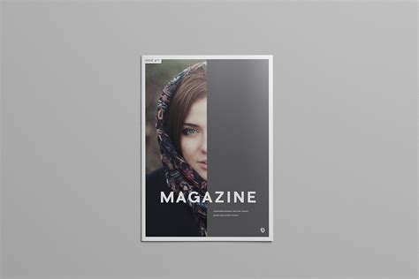 magazine layout template illustrator simple illustrator magazine template