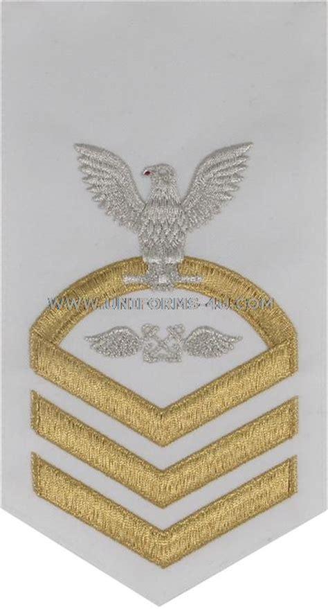 female boatswain s mate us navy e7 aviation boatswains mate ab white rating badge
