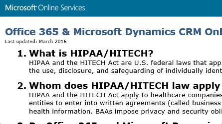 Is Office 365 Hipaa Compliant by Compliance Certifications For Office 365