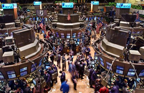 Stock Market Floor by New York Stock Exchange Trading Floor Like Success