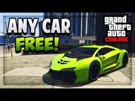 tutorial gta online ps4 gta 5 online how to get quot any car quot free tutorial ps3
