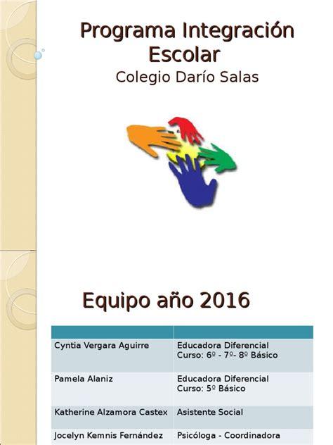 integracion eacolar arancelea 2016 sensibilizacion docentes marzo 2016 ppt corregido