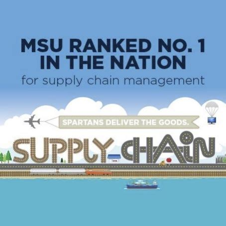 Top Mba Supply Chain Management by Msu Leads Supply Chain Management Field Among Top 15