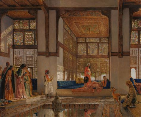 harem ottoman file john frederick lewis a lady receiving visitors the