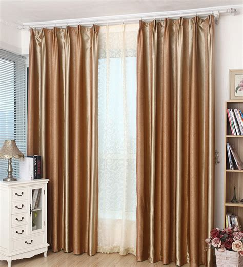 brown striped curtains modern brown striped embossed blackout curtains with white