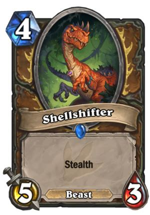 hearthstone stealth deck shellshifter stealth hearthstone card