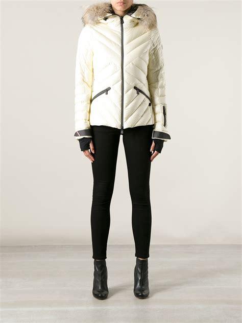 Jaket Sweater Makalu Strech lyst moncler grenoble makalu ski jacket in white