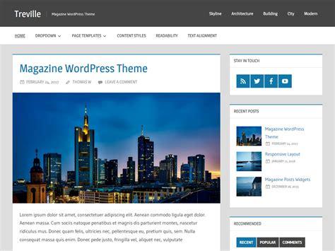 wordpress themes zee treville themezee