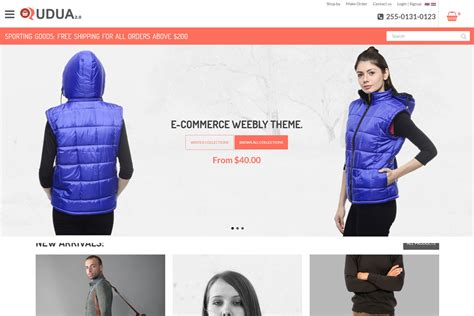 Weebly Ecommerce Templates