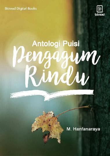 layout buku puisi jual buku antologi puisi pengagum rindu oleh m