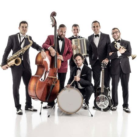 jazz swing bands italian swing and jazz band hire a live band