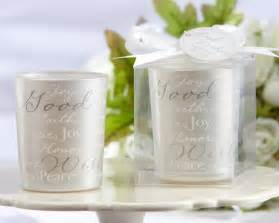 Make Your Own Candle Wedding Favors by Ideas For Diy Wedding Favors Cherry