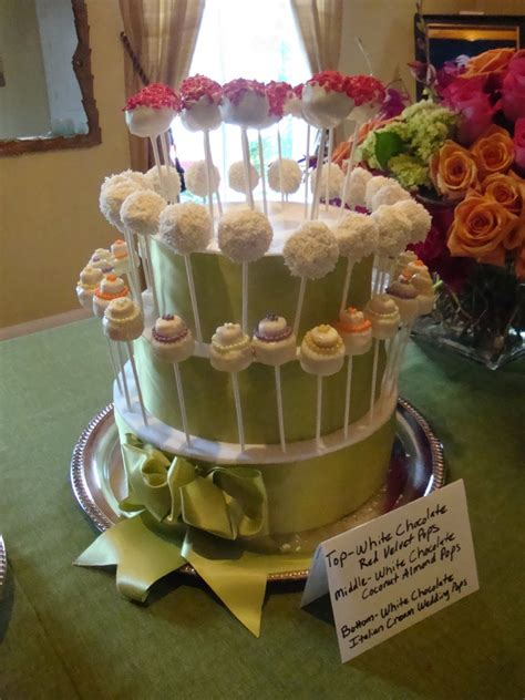 Cake Pops For Wedding Shower by Sweet Thang S Confections Bridal Shower Wedding Cake Pops