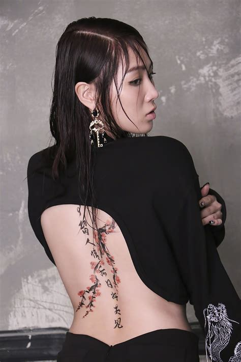 sistar hyorin tattoo sistar showcase their feminine charm in bts photos daily