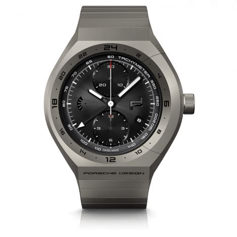 Porsche Design Uhr by Monobloc Actuator Gmt Chronotimer All Titanium Porsche