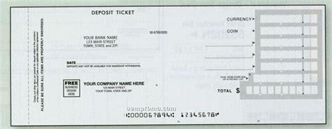 carbonless deposit ticket books quick scan custom horizontal 2 part deposit slip china wholesale horizontal