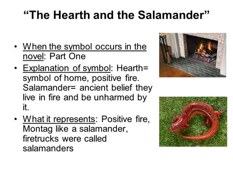 theme of fahrenheit 451 the hearth and the salamander fahrenheit 451 symbols ppt download