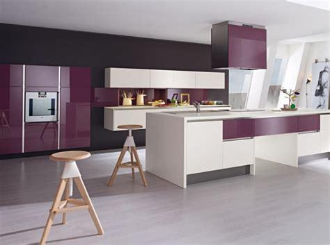 Cuisine Violet Et Gris by D 233 Coration Cuisine Gris Et Violet