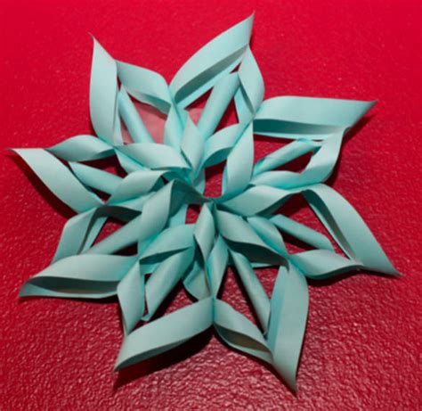 How To Make 3d Paper Snowflakes - 21 awesome 3d paper snowflake ideas free premium