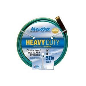 water hose at home depot neverkink 5 8 in dia x 50 ft heavy duty water hose 8605