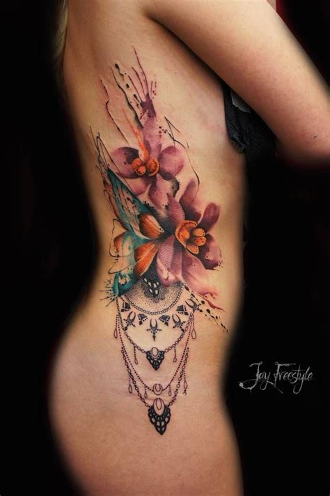 side piece tattoos for females 25 trending side tattoos ideas on