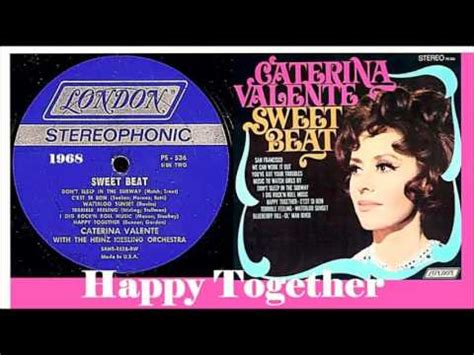 caterina valente happy together caterina valente happy together 1968 youtube