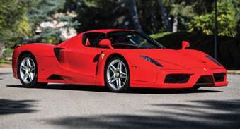 Enzo Auction Unique Rosso Scuderia Enzo To Be Auctioned In May