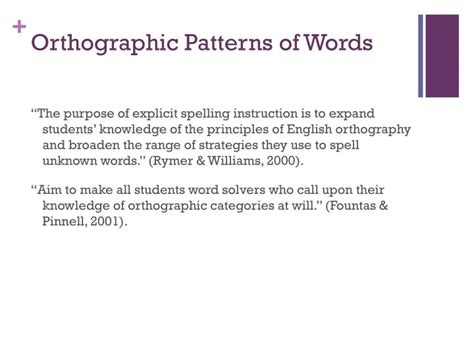 pattern words in english ppt spelling chapter 12 powerpoint presentation id 2005888
