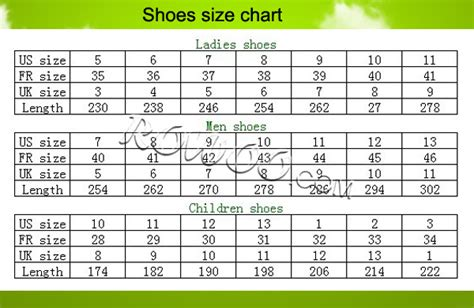 shoe size chart south africa rw29475 personalized slider slipper for men custom made