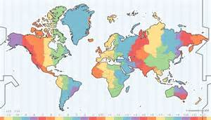 best 25 time zone map ideas on