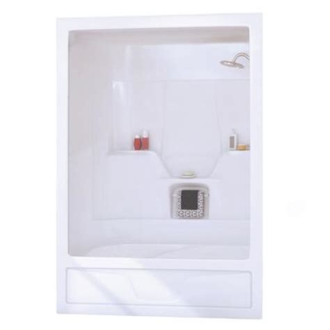 3 piece bathtub keystone by maax astm 3 piece white acrylic tub shower