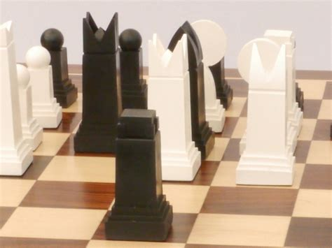 art deco chess set art deco chess pieces 0 1278 426100