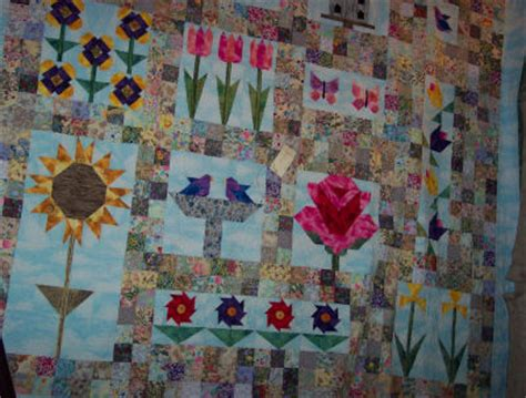 Patchwork Gardens - a pieced or patchwork quilt