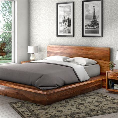 wooden platform bed best ideas about platform beds diy bed also wood