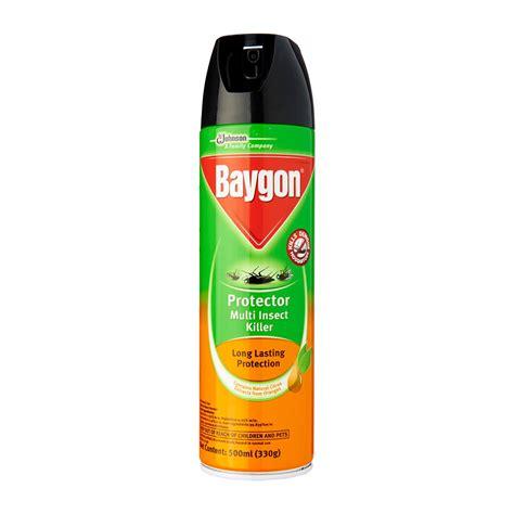 Baygon Spray 600ml Ungu Berkualitas baygon protector multi insect killer 500ml from redmart