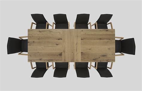 top dining table dining table top view hartmann solid wood furniture