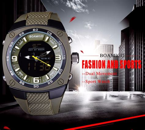 Jam Tangan Digital Not Casio Gshock Protrek Suunto boamigo jam tangan analog digital pria f 602 army green jakartanotebook