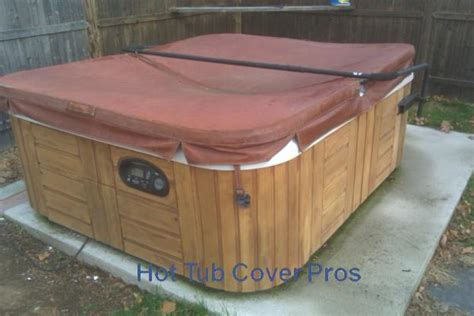 cover old bathtub what to do when your hot tub cover gets waterlogged hot