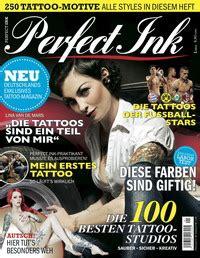 tattoo zeitschriften online blättern axel springer launcht tattoo magazin perfect ink