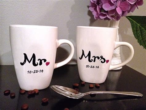 wedding gift mugs sohl design sharpie mug wedding gift