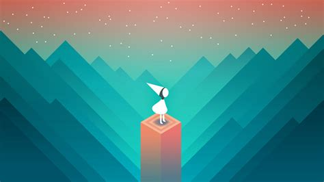 wallpaper monument valley game monument valley the quest for a game everyone can finish