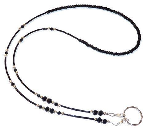 eyeglass holder 28 strung on 19 strand wire eyeglass