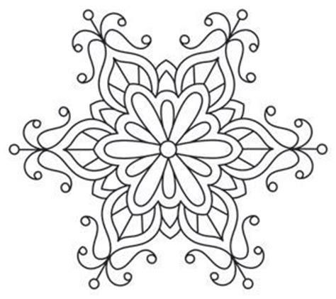 snowflake mandala coloring pages snowflake mandala coloring pages printable