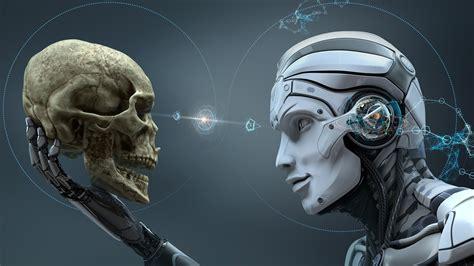 Android Vs Robot by Robot Skull Creative Design Wallpaper 1600x900