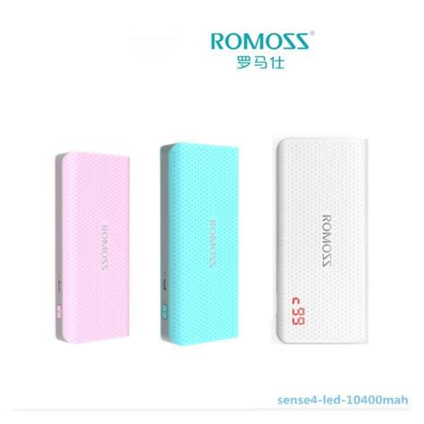 Romoss Powerbank Sense4 10400 Mah Original 100 original romoss sense 4 led 1 end 11 5 2017 3 15 pm myt