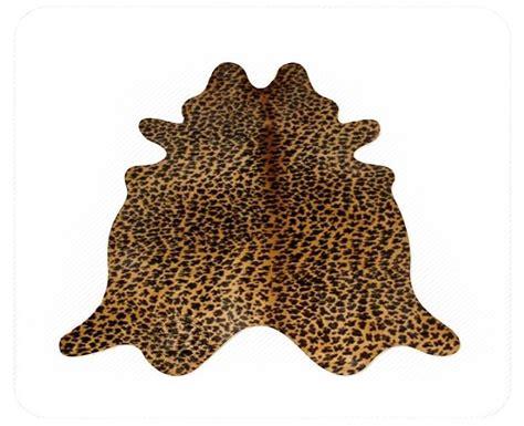 Leopard Print Cowhide Rug Leopard Print Cowhide On Caramel Other Rugs Carpets