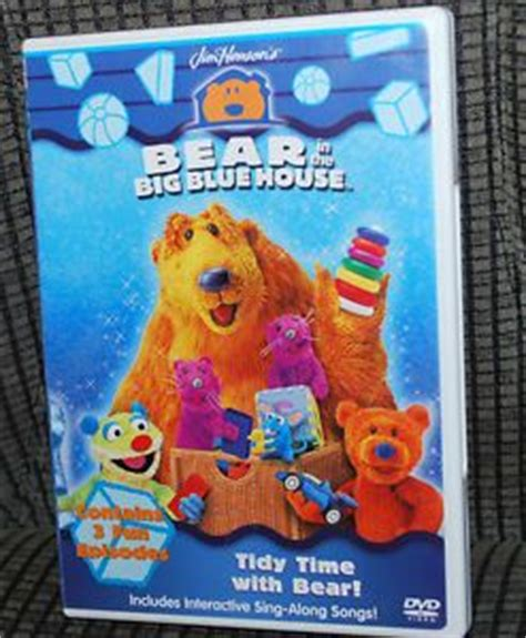 bear inthe big blue house dvd bear big blue house shadow on popscreen